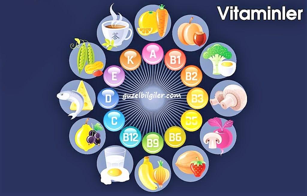 vitamin eksikliği ve hastalıklar