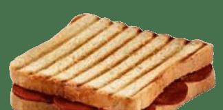 sucuklu tost kalori